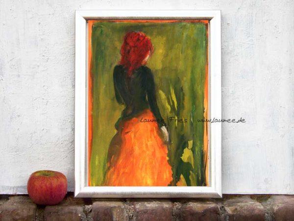 Abendrot Kunstrduck www.laumee.de