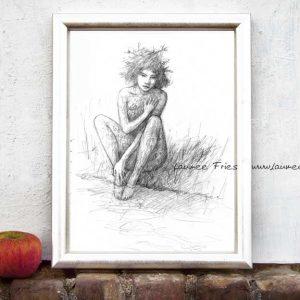 Kunstdruck Armour von Laumee