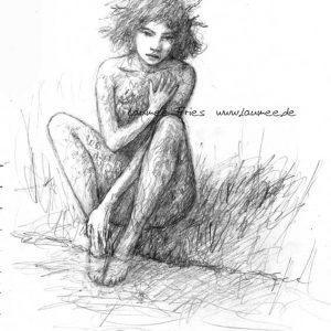 'Armour' Zeichnung von Laumee