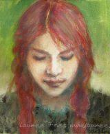 Laumee Fries: Malerei mit Eitempera auf Leinwand
