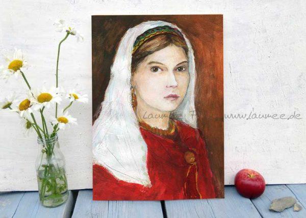 Holzbild Judith von Laumee