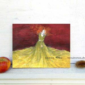 Kunstdruck auf Holz Tuch von Laumee