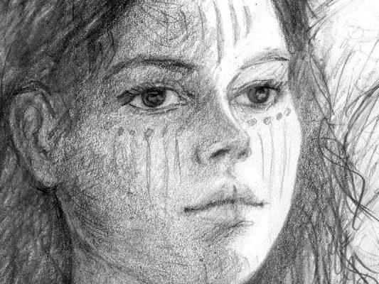 Zeichnung: Irische Mythologie von Laumee