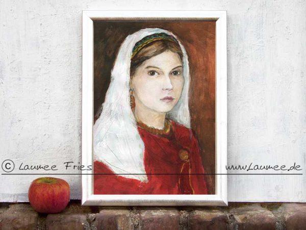 Kunstdruck Judith von Flandern - Laumee