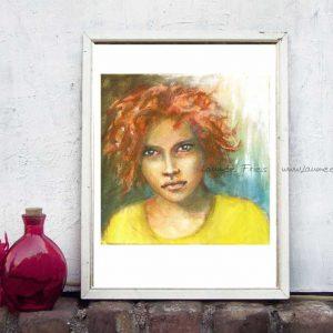 Kunstdruck von Laumee 'Biri'