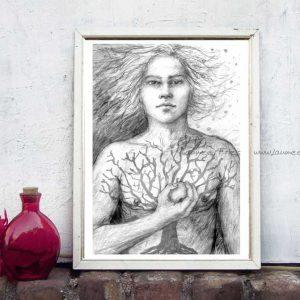 Kunstdruck Lugh von Laumee