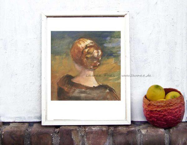 Kunstdruck Mirror von Laumee
