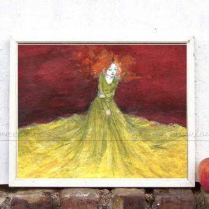 Kunstdruck Tuch von Laumee