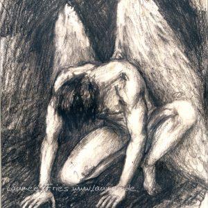 Laumee Engel Zeichnung