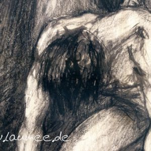 Laumee Engel Zeichnung detail