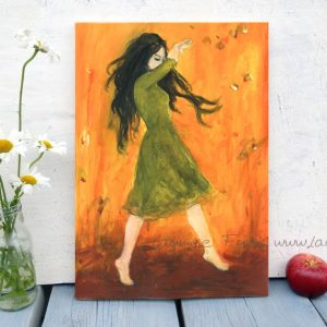 www.laumee.de Tanzende im grünen Kleid