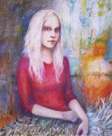 Pale Girl - Malerei von Laumee Fries