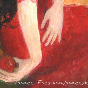 Laumee Kunstdruck Persephone Detail
