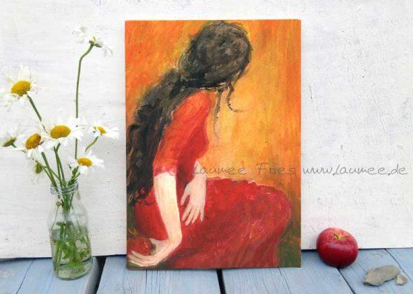 Holzbild Persephone von Laumee