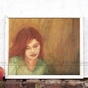 Malerei von Laumee - Kunstdruck