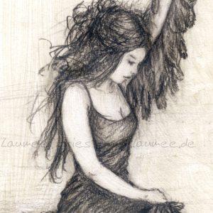 Die Schwanenfrau - Detail