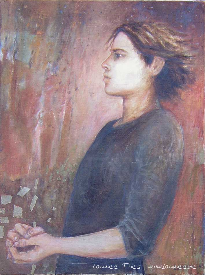 Setanta - Malerei von Laumee Fries
