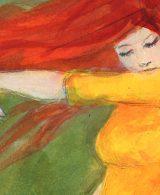 Tänzerin Zeichnung von Laumee