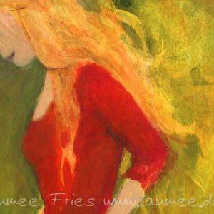 www.laumee.de-Detail Rotes Kleid
