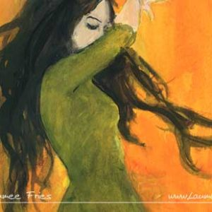 Laumee Fries - Tanzende Detail