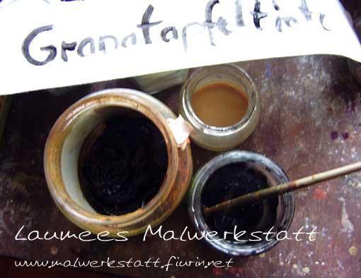 Laumees Malwerkstatt - Granatapfeltinte