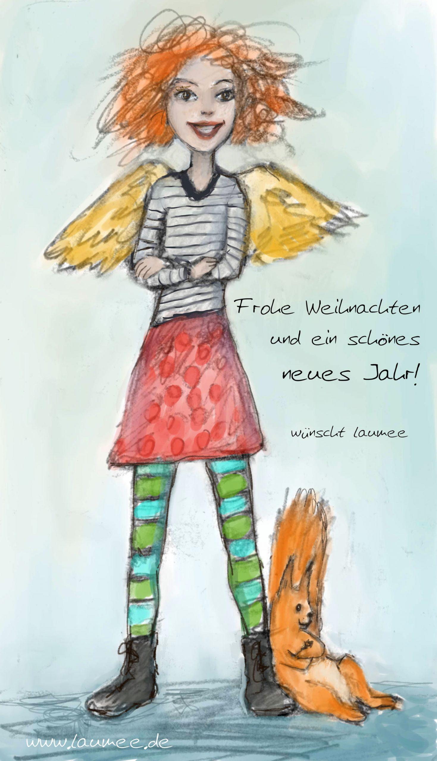 Laumee Fries - Weihnachtskarte